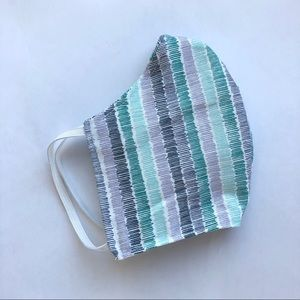 Accessories - 100% Cotton Face Mask With Filter Pocket